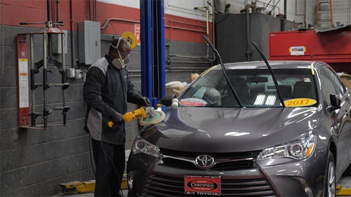 A1 Toyota service mechanic