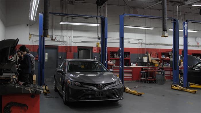 A1 Toyota service center