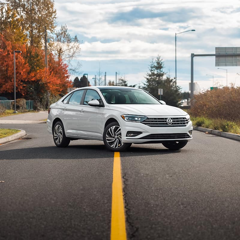 The 2019 Volkswagen Jetta sports a newly redesigned look and comes in several trim levels including Comfortline, Highline, Execline and R-Line