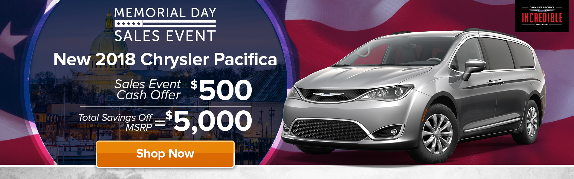2018 Chrysler Pacifica for Sale in Annapolis