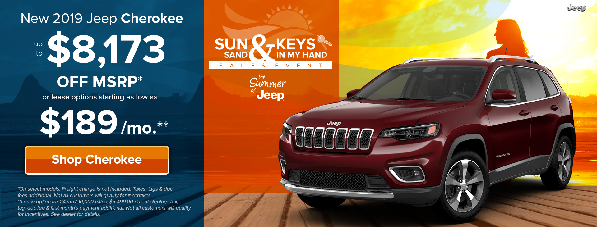 Sun, Sand & Jeep Keys