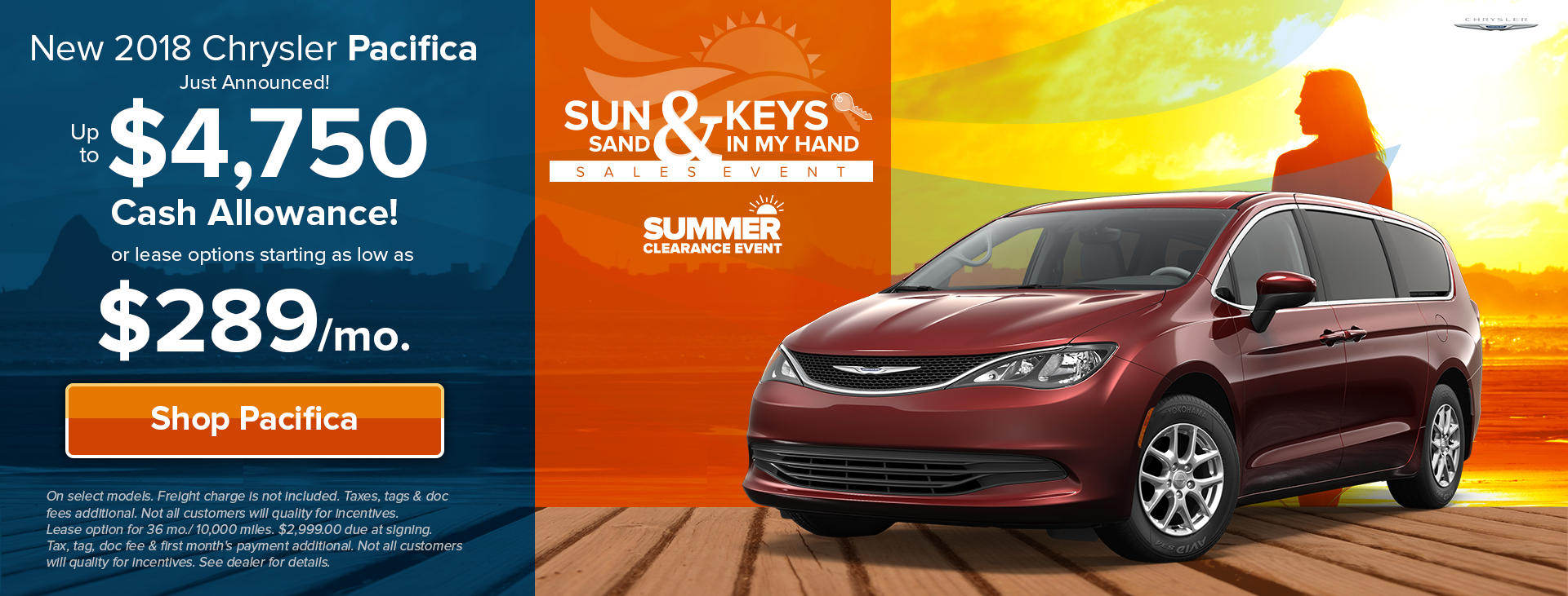 Sun, Sand & Chrysler Keys
