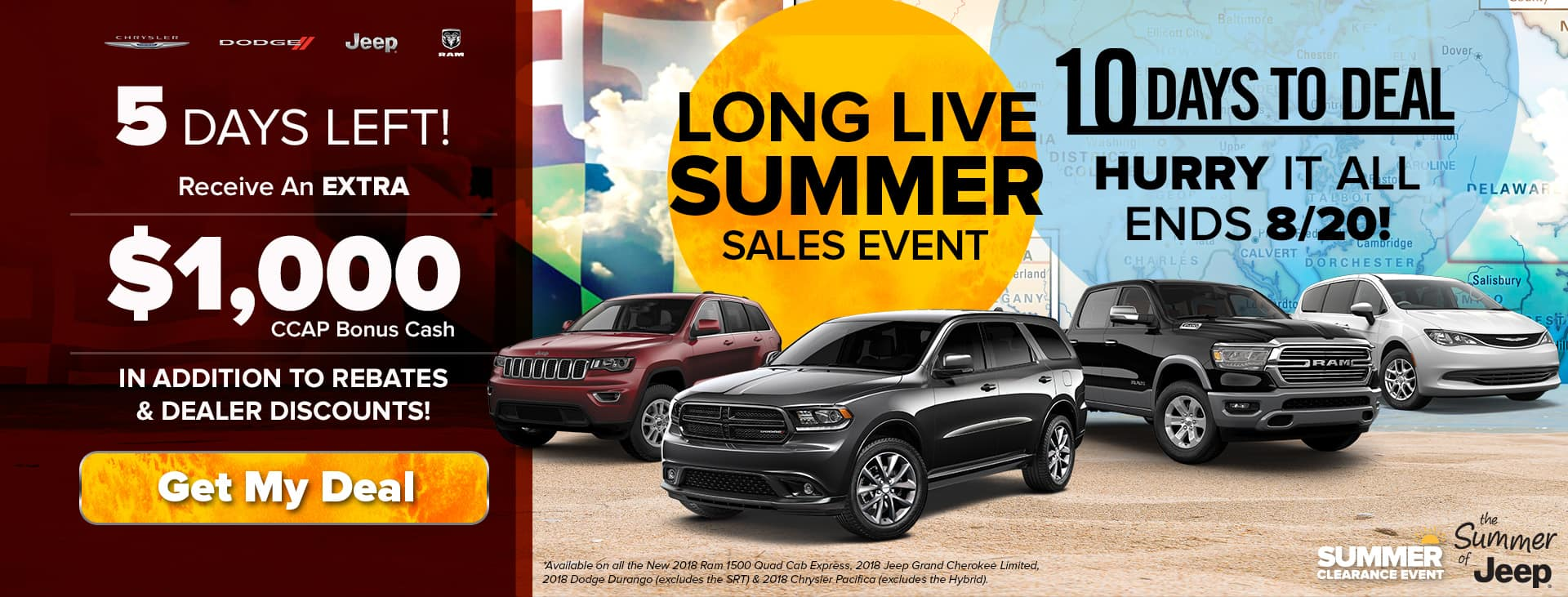 Hurry In! Only 5 Days Left to Deal!