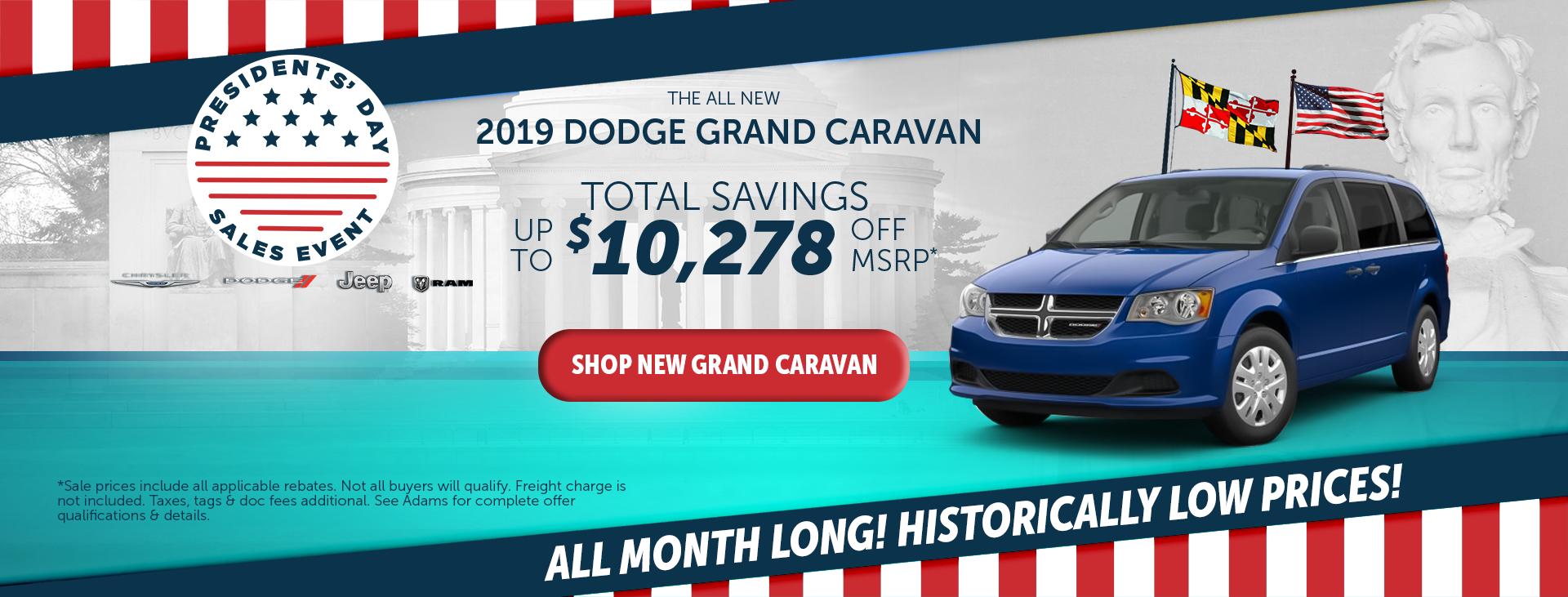 adams chrysler dodge jeep ram 2019 dodge grand caravan