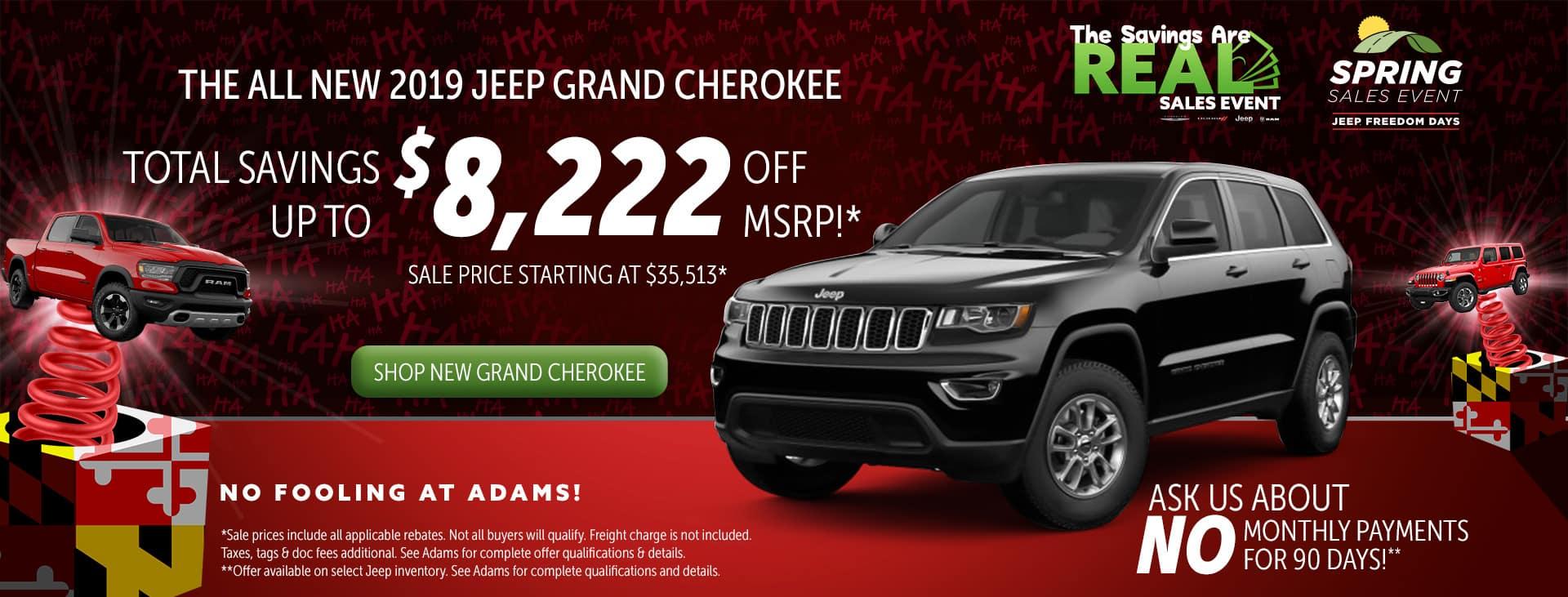 huge savings on grand cherokee!