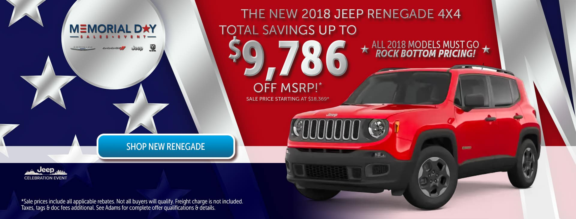 Memorial Day Sales Event in Annapolis