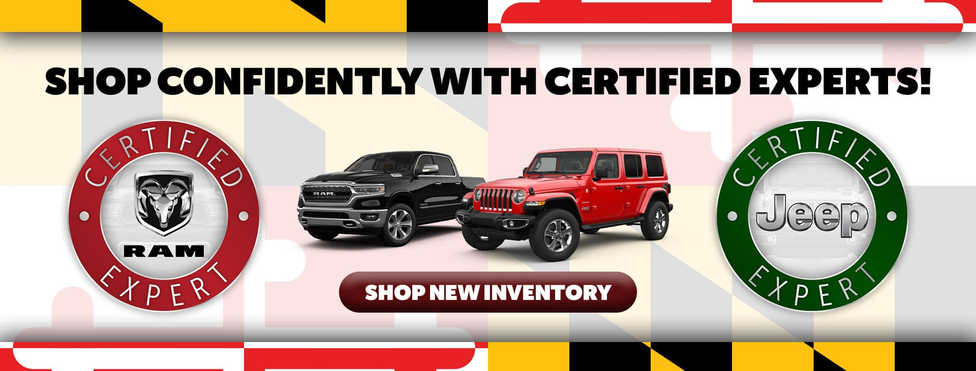 Certified Jeep and Ram specialists at Adams in Annapolis