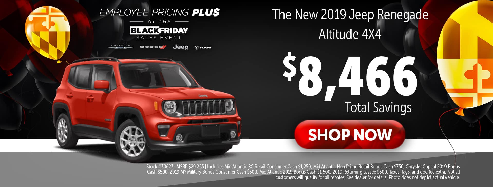2019 Jeep Renegade at Adams in Annapolis