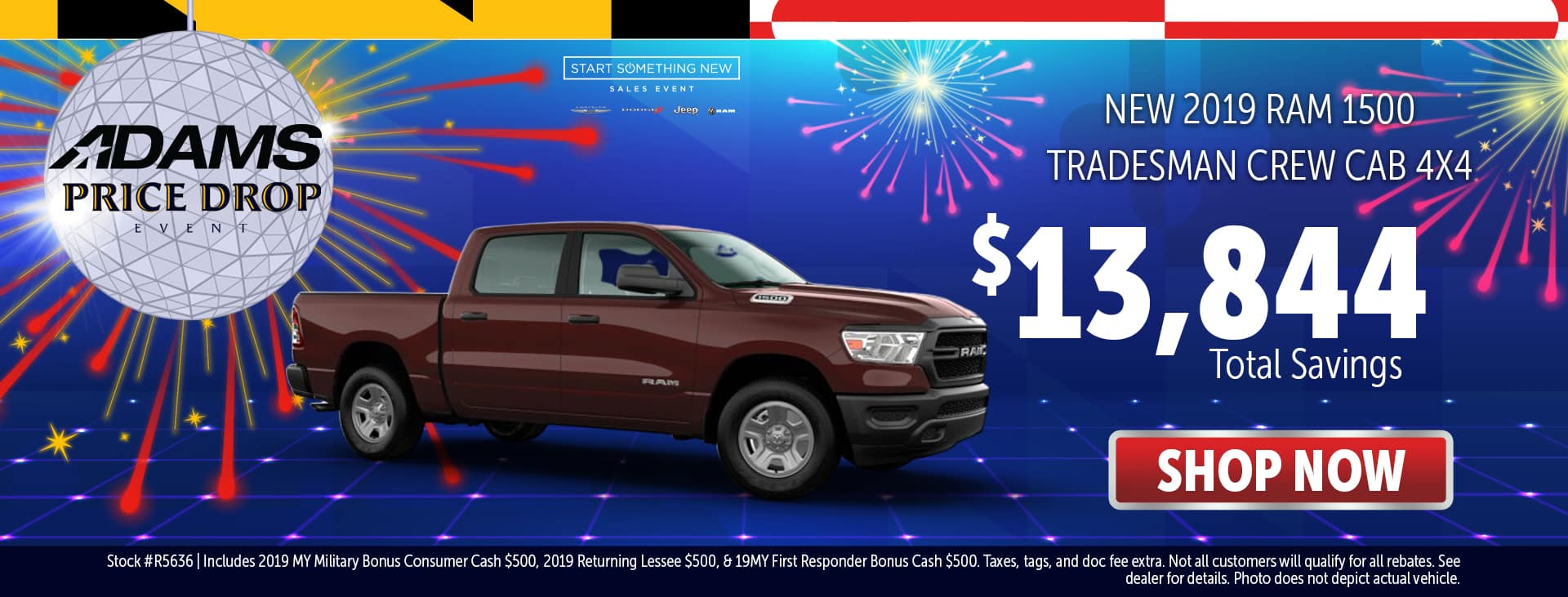 Over $13,000 Off MSRP on a new Ram 1500