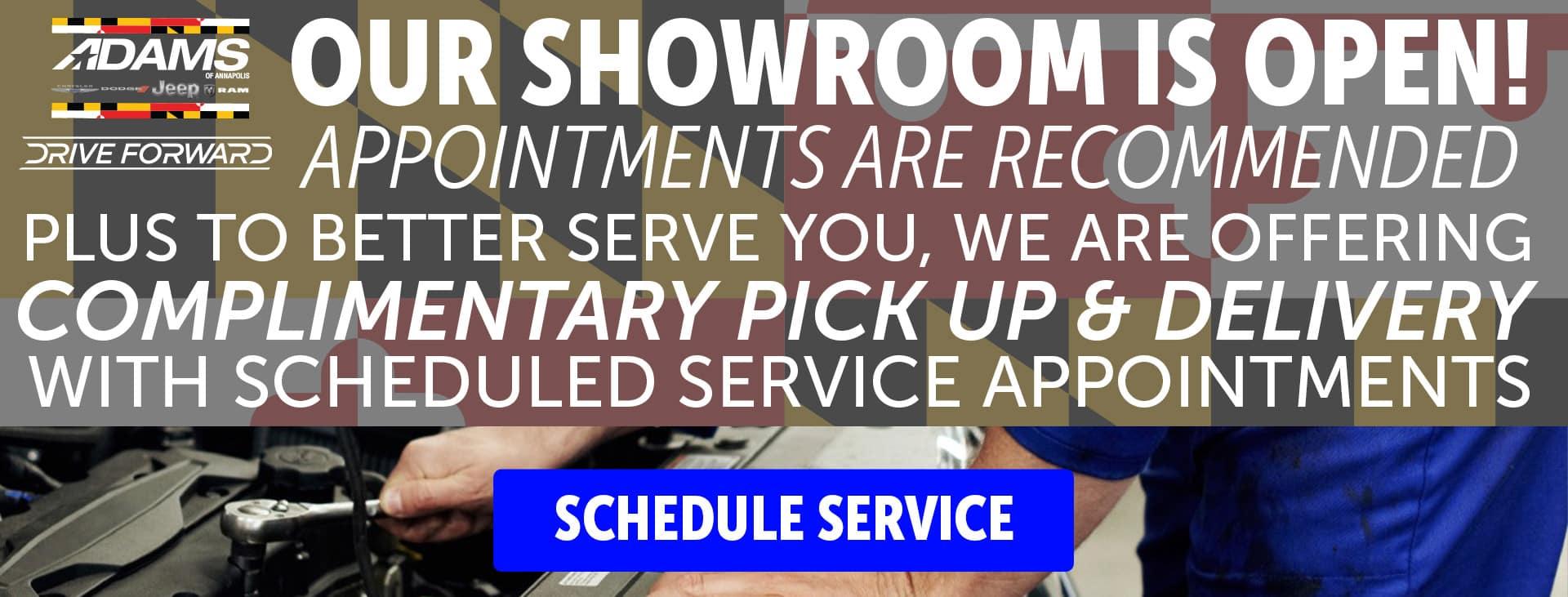 Schedule Your Service Online
