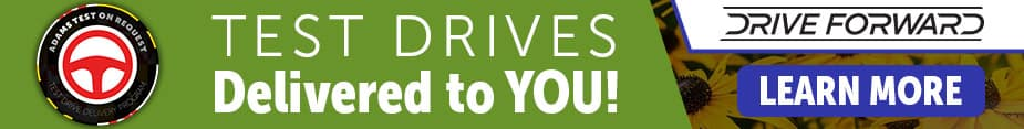 Test Drives Delivered To You!