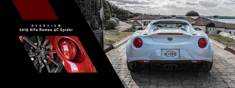 2019 Alfa Romeo 4C Spider Overview at Alfa Romeo Louisville