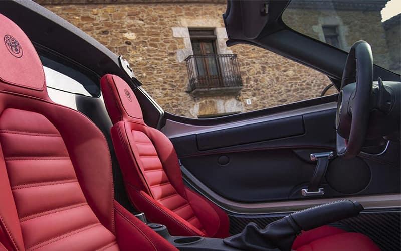 2020 Alfa Romeo 4C Spider Interior