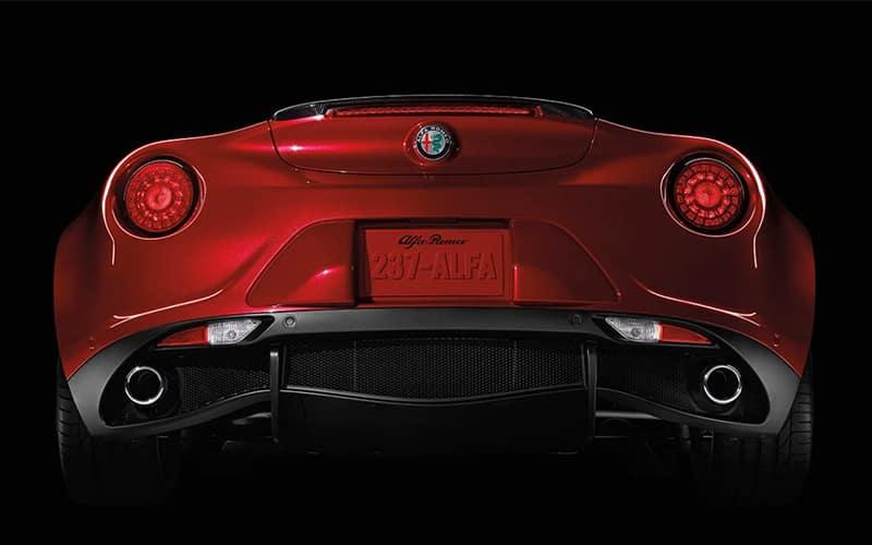 2019 Alfa Romeo 4C Spider Performance