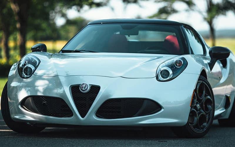 2020 Alfa Romeo 4C Spider White