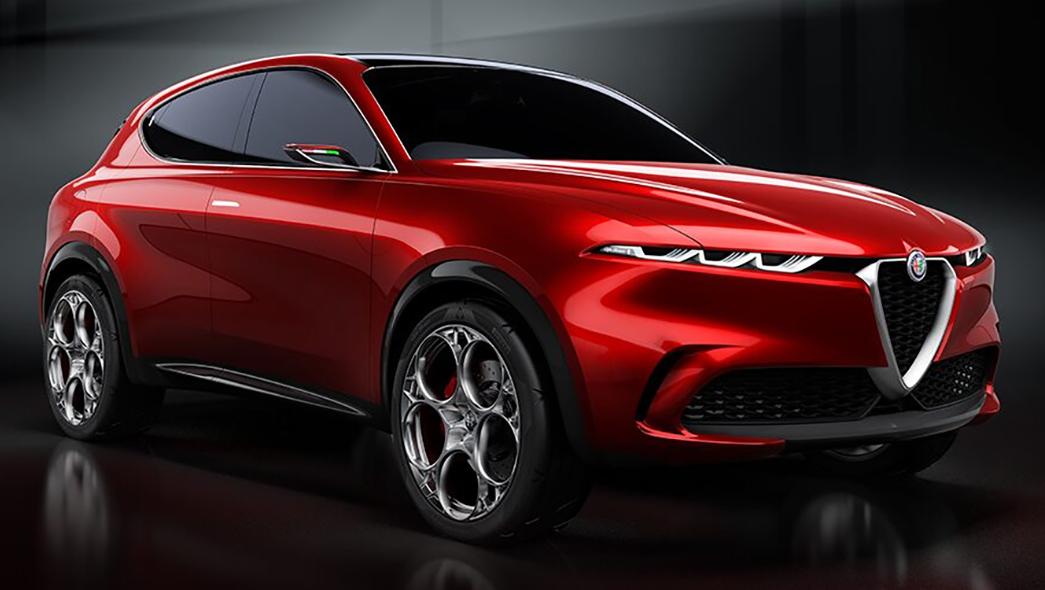 Alfa Romeo Tonale Exterior Styling