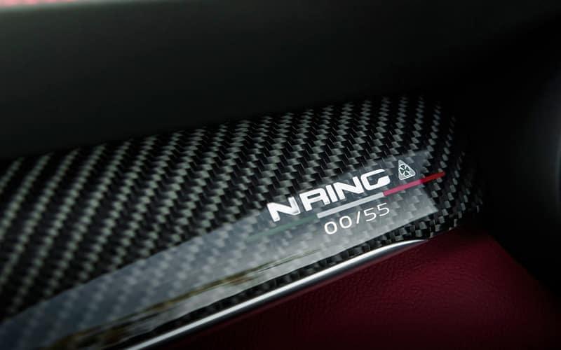 Alfa Romeo Stelvio Quadrifoglio NRING Edition Nameplate