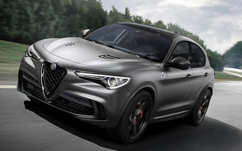 Alfa Romeo Stelvio Quadrifoglio NRING Exterior