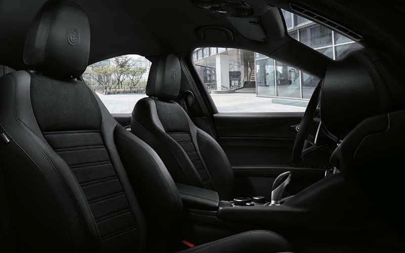 Alfa Romeo Stelvio Quadrifoglio NRING Interior