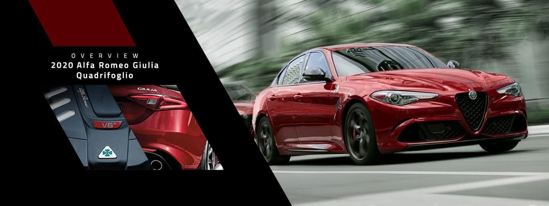2020 Alfa Romeo Giulia Quadrifoglio Overview at Alfa Romeo Louisville