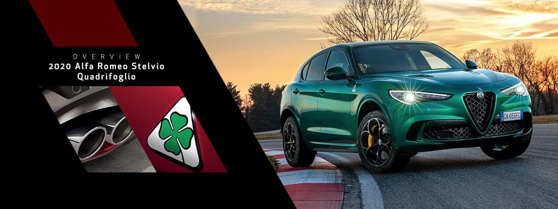 2019 Alfa Romeo Stelvio Quadrifoglio Overview at Alfa Romeo Louisville