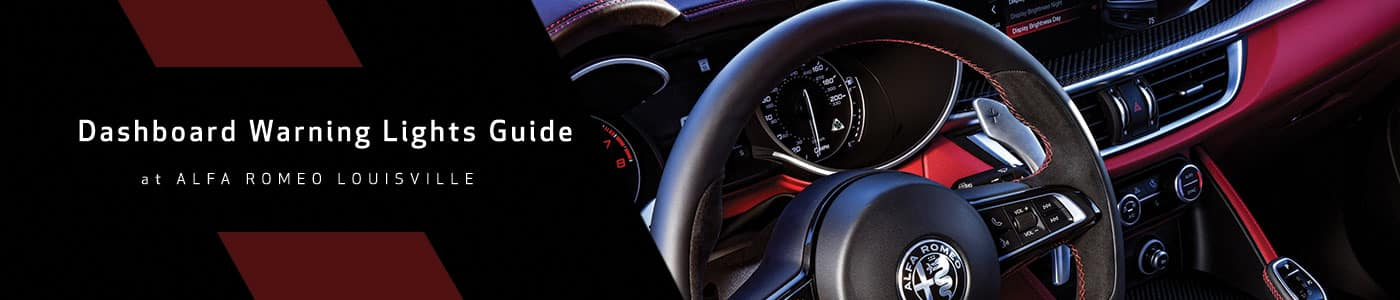 Alfa Romeo Dashboard Warning Lights