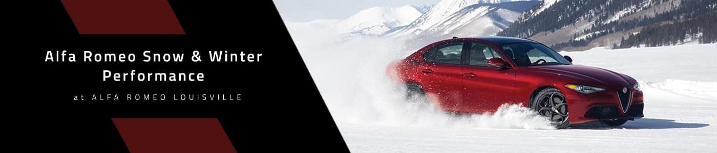 Alfa Romeo Giulia Snow