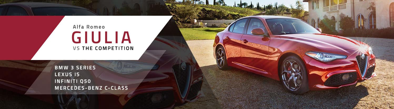 Alfa Romeo Giulia Comparison