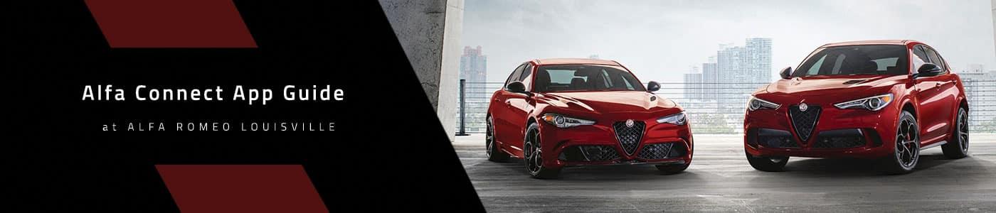 Alfa Romeo Connected Services App - Alfa Romeo Louisville