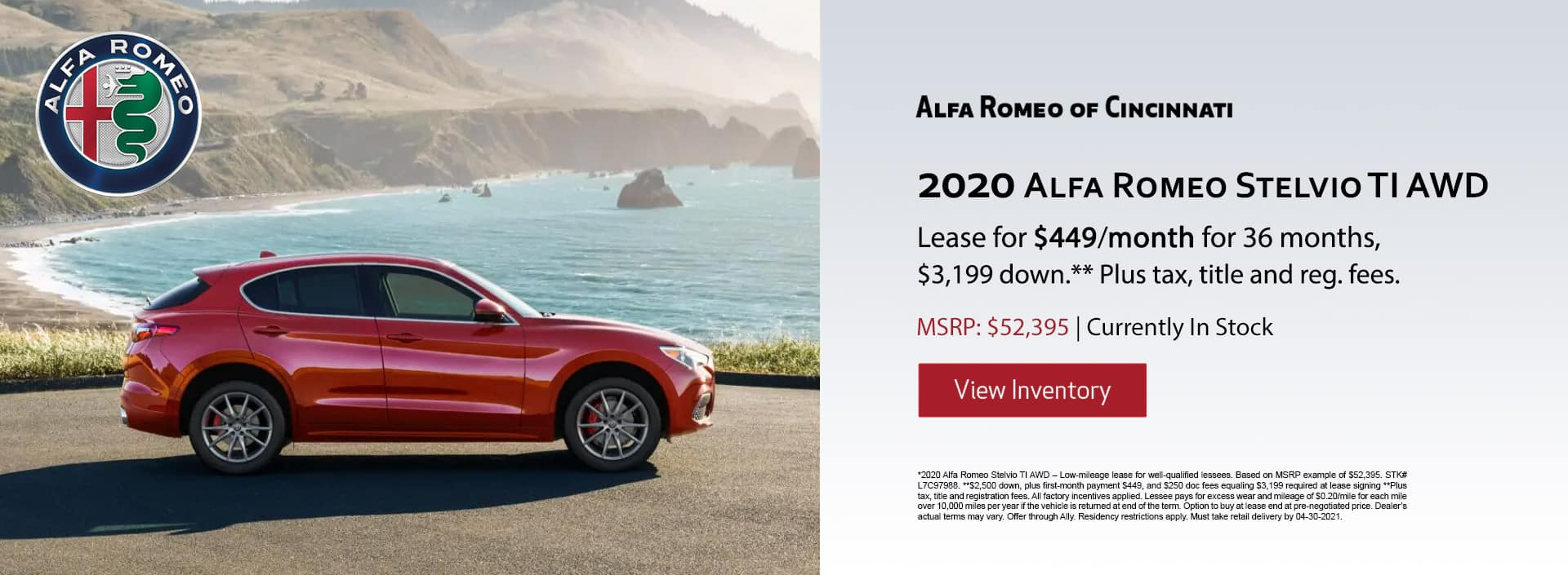 Alfa Romeo Stelvio Lease