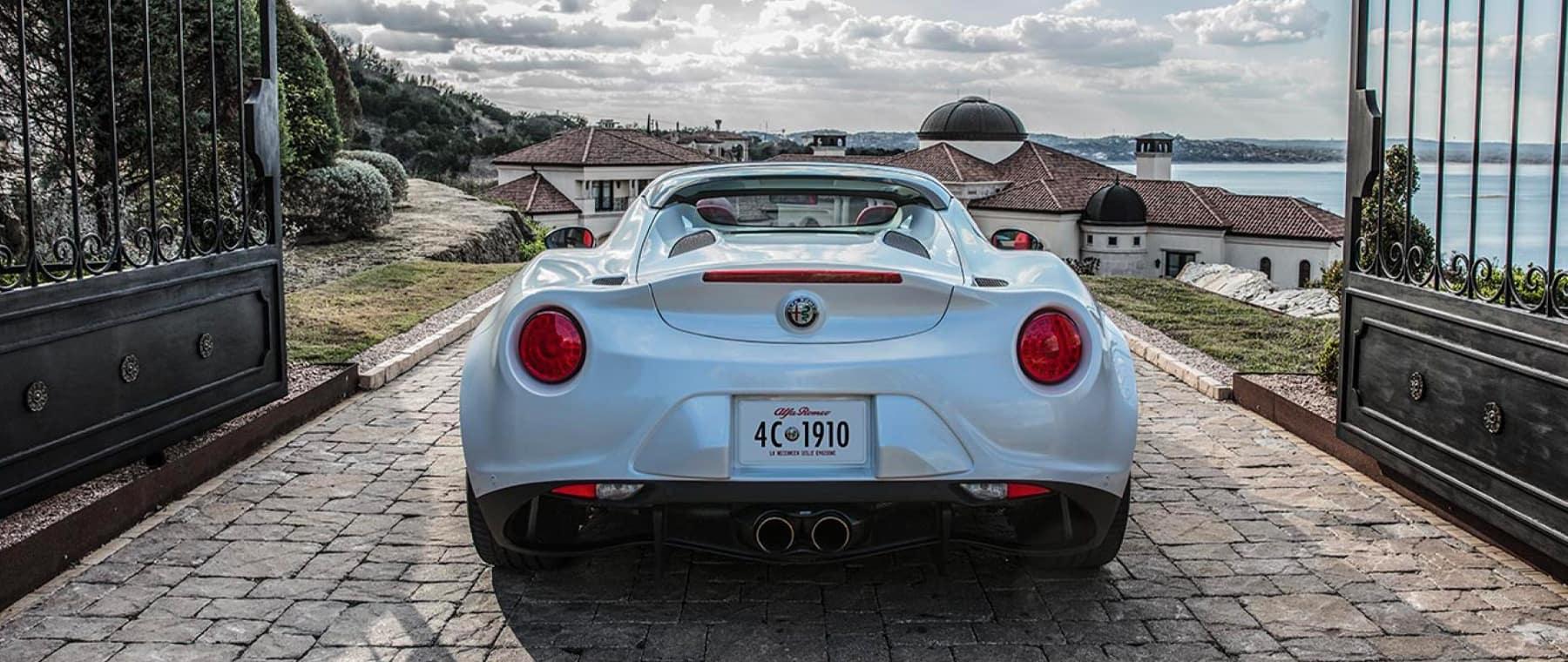 Alfa Romeo Homepage Image