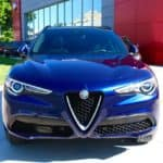 2018 Alfa Romeo Stelvio at the dealership