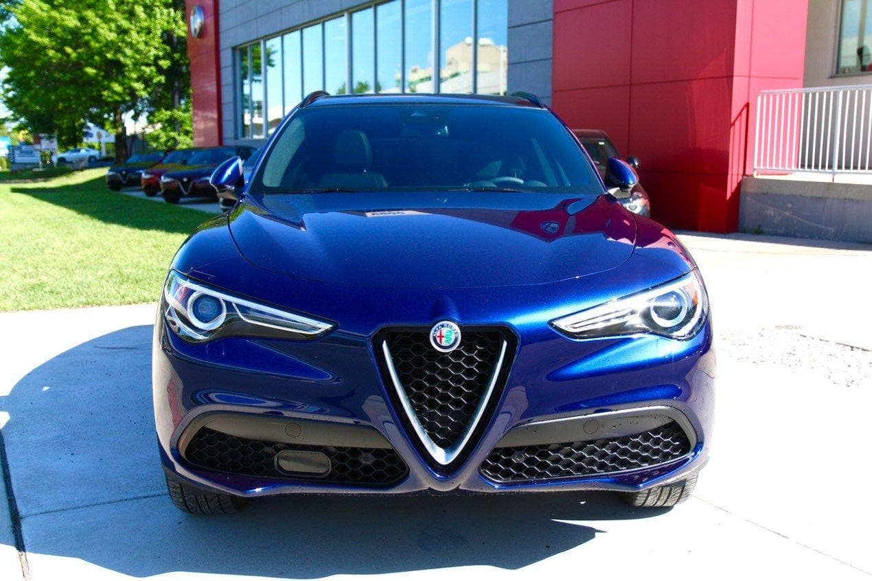 2018 Alfa Romeo Stelvio at the dealership