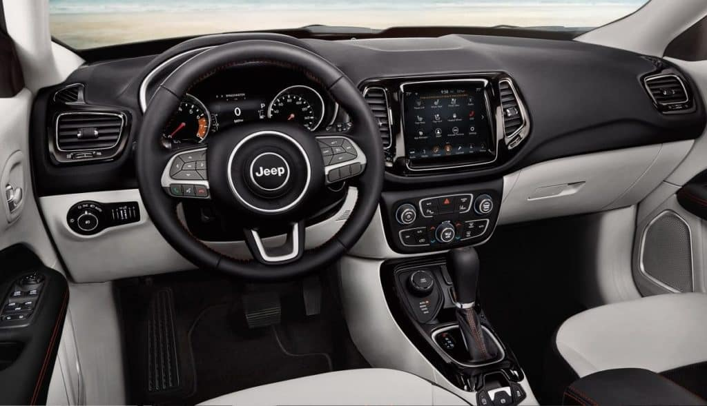 Interior - 2018 Jeep Compass near Gurnee IL | Antioch Chrysler Dodge Jeep Ram