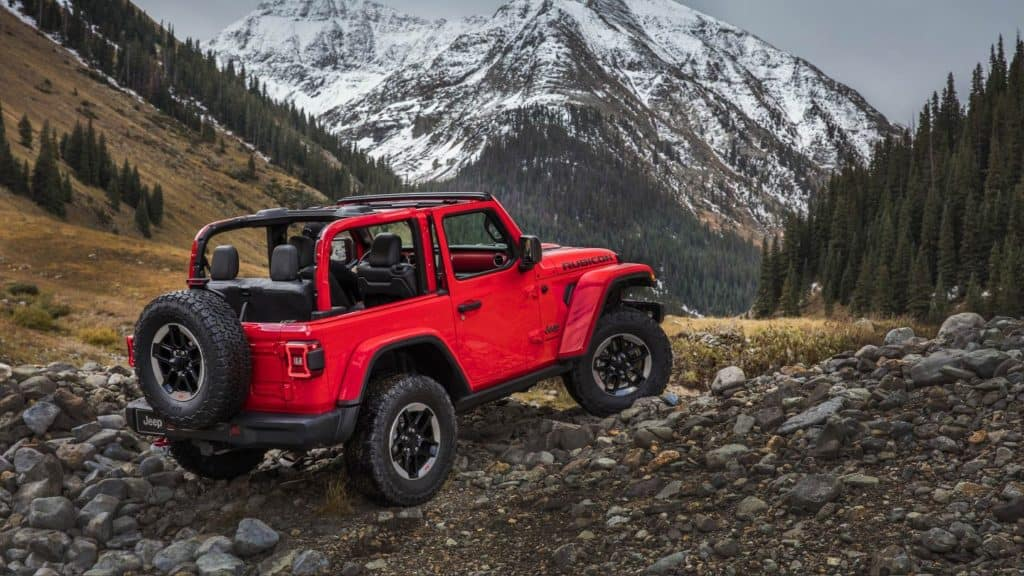 Overview 2018 Jeep Wrangler JL near Chicago