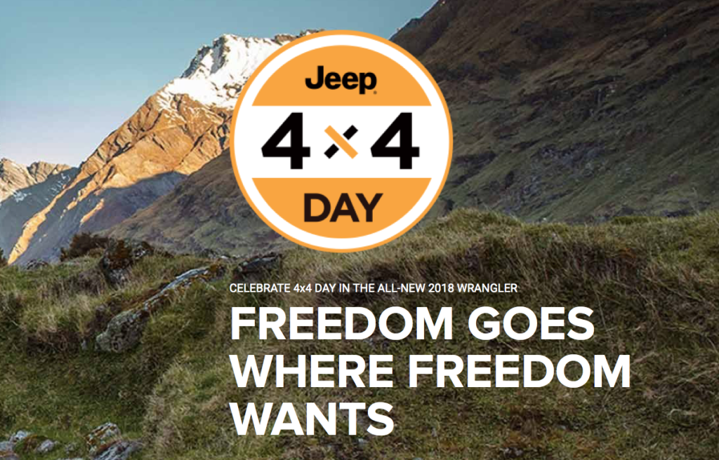 Jeep Presents The Jeep 4×4 Day By Chicago Illinois