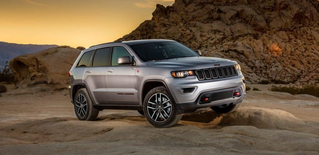 Exterior 2018 Jeep Grand Cherokee Gurnee Area