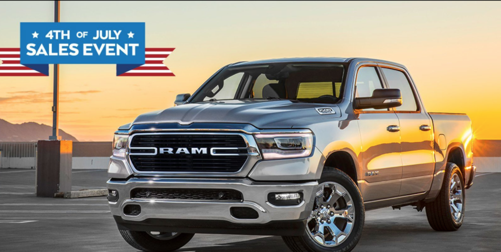 RAM 4th of July Sales Event Chicago IL Area
