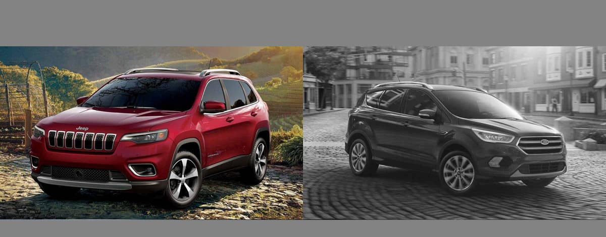 2019 Jeep Cherokee vs 2018 Ford Escape Serving Gurnee