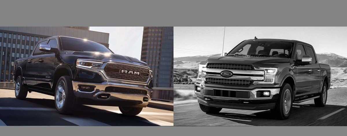 2019 RAM 1500 vs 2019 Ford F-150 Serving Gurnee