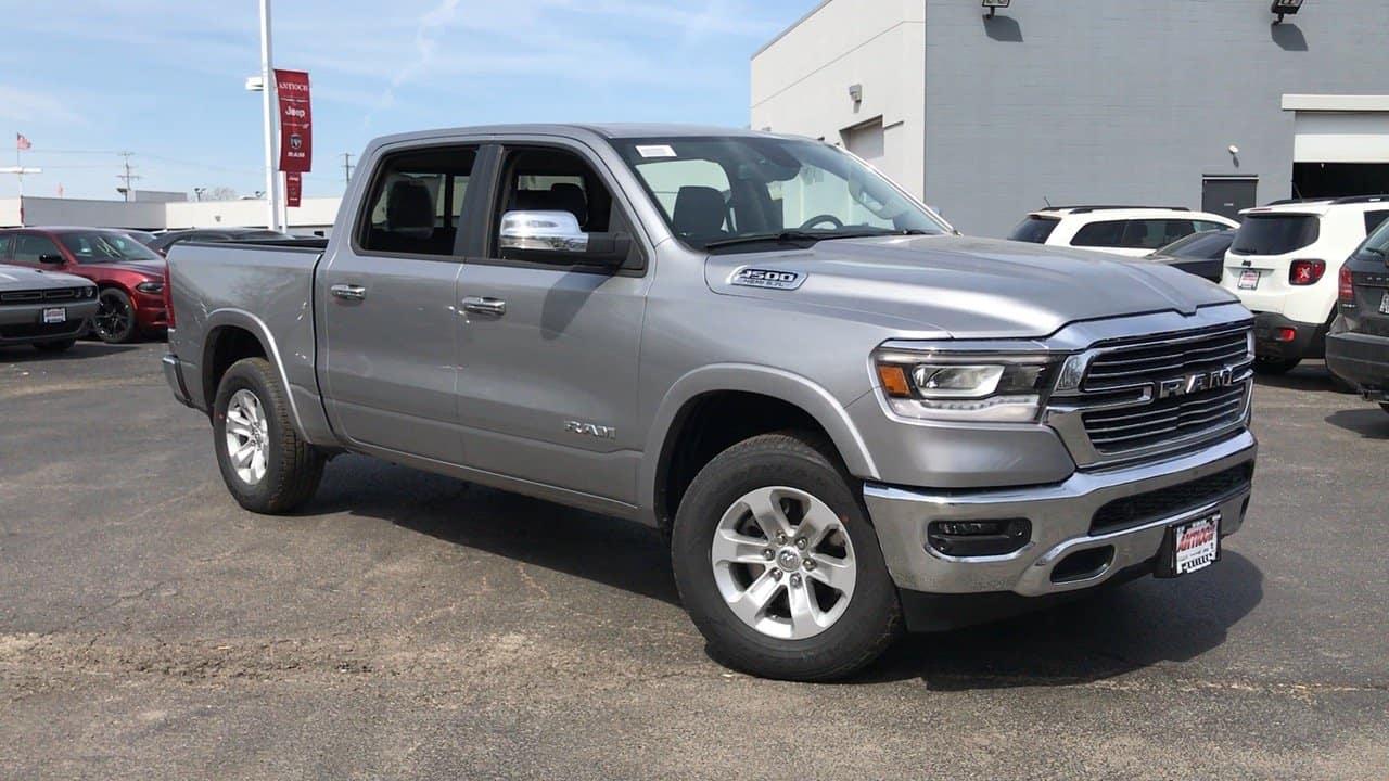 A silver 2019 Ram 1500