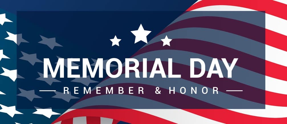 Memorial Day Remeber & Honor Banner