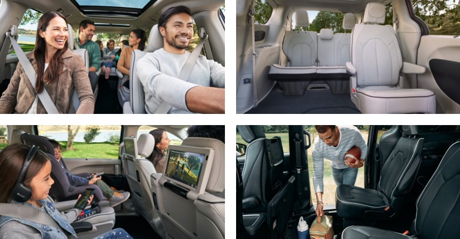The 2020 Chrysler Pacifica is a perfect family van