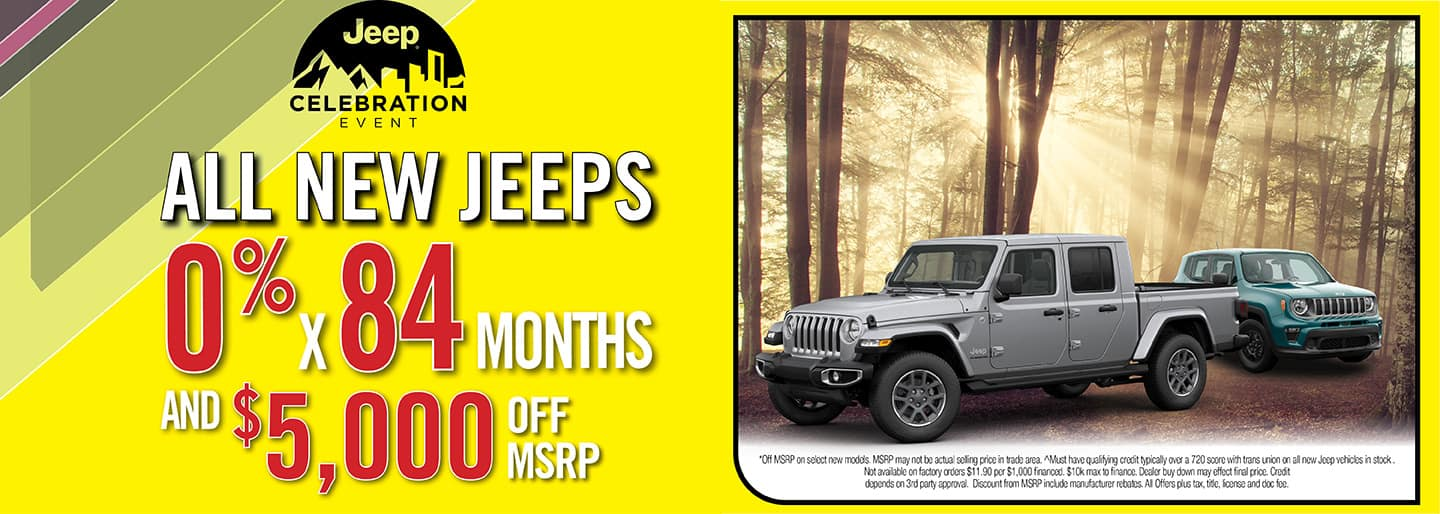 All New Jeeps Deal