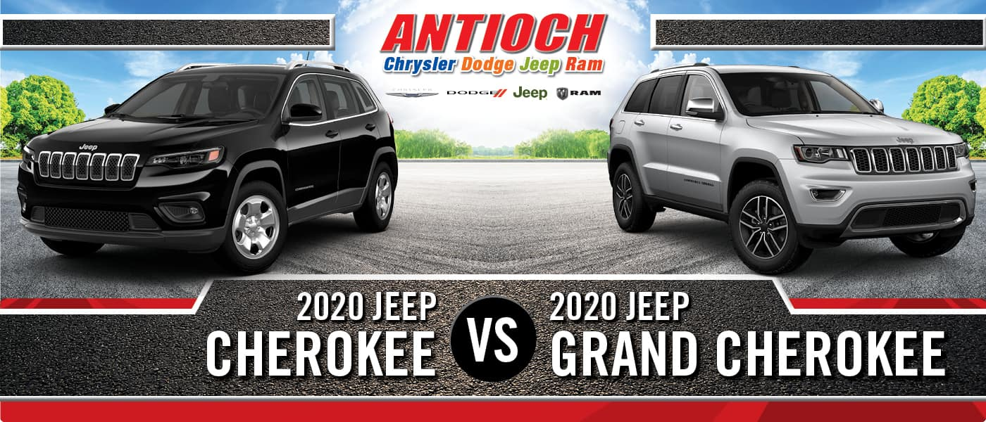 2020 Jeep Cherokee vs. 2020 Jeep Grand Cherokee