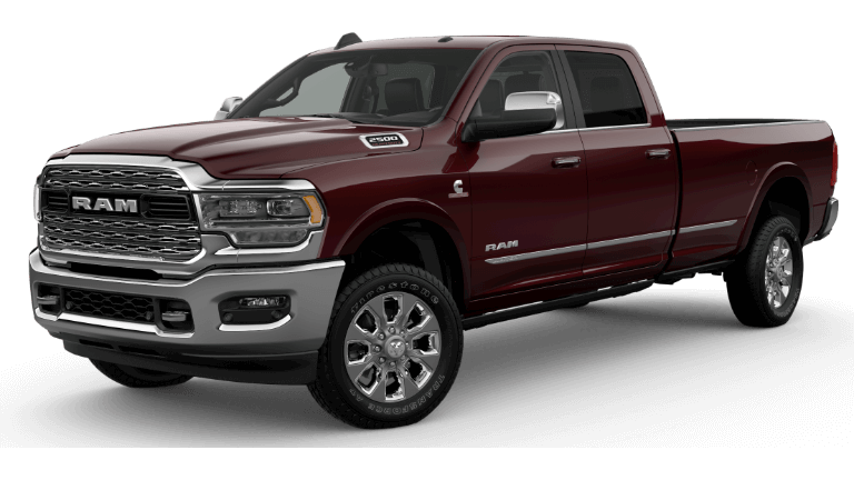 A delmonico red 2020 Ram 2500 Limited
