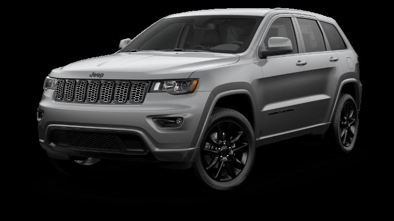 A grey 2020 Jeep Grand Cherokee Altitude