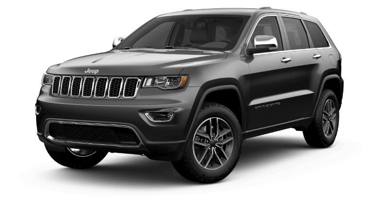 A grey 2020 Jeep Grand Cherokee Limited