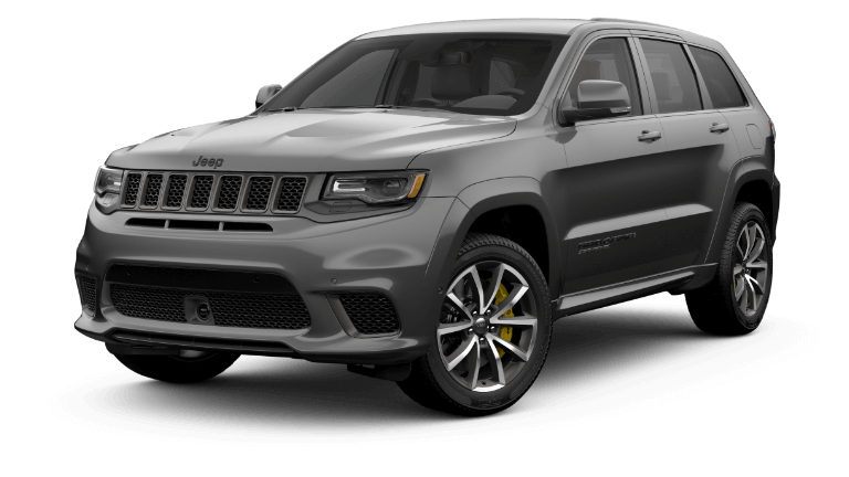 A sting gray 2020 Jeep Grand Cherokee Trackhawk