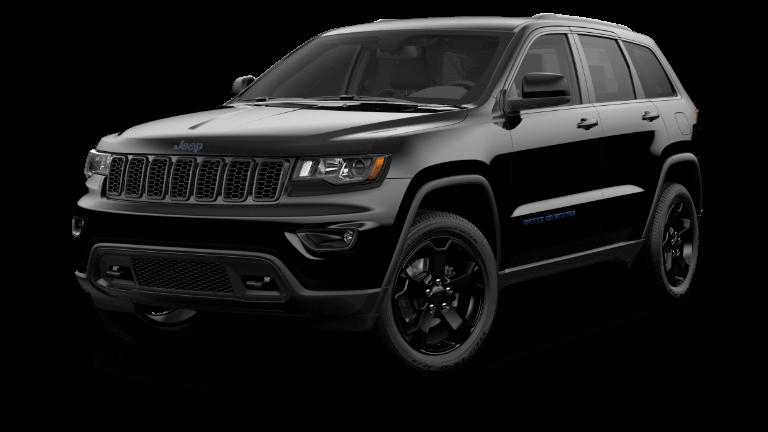 A black 2020 Jeep Grand Cherokee Upland